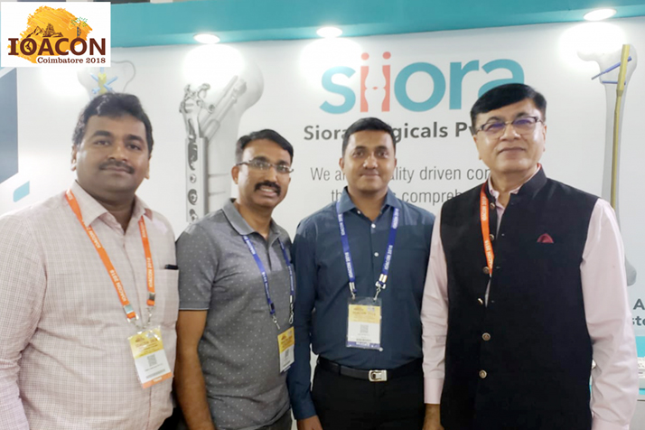 Siora Surgicals Pvt. Ltd en IOACON 2018